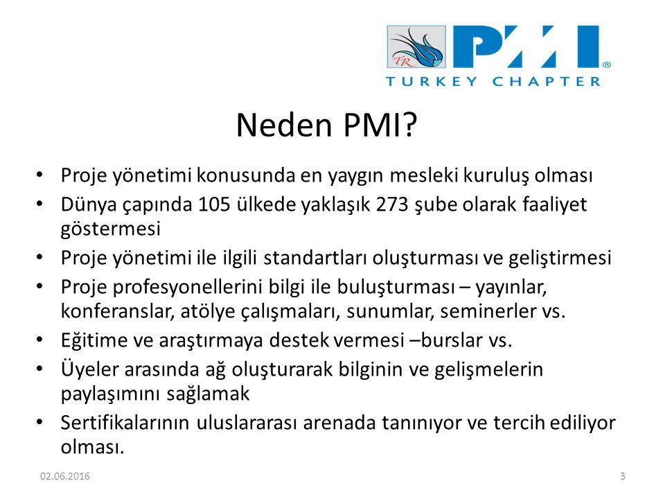 Neden PMI.