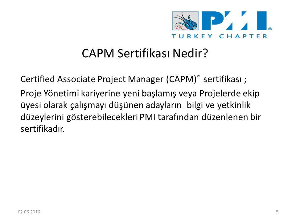 CAPM Sertifikası Nedir.