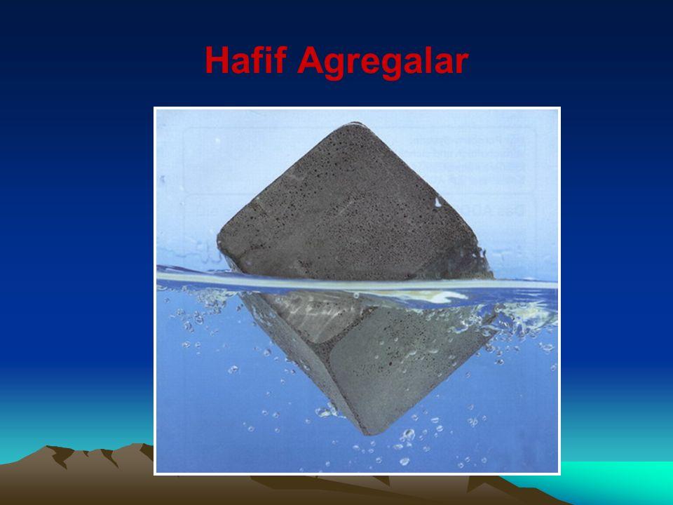 Ağır Agregalar İhtiyaca göre ağır beton elde etmek için kullanılırlar.