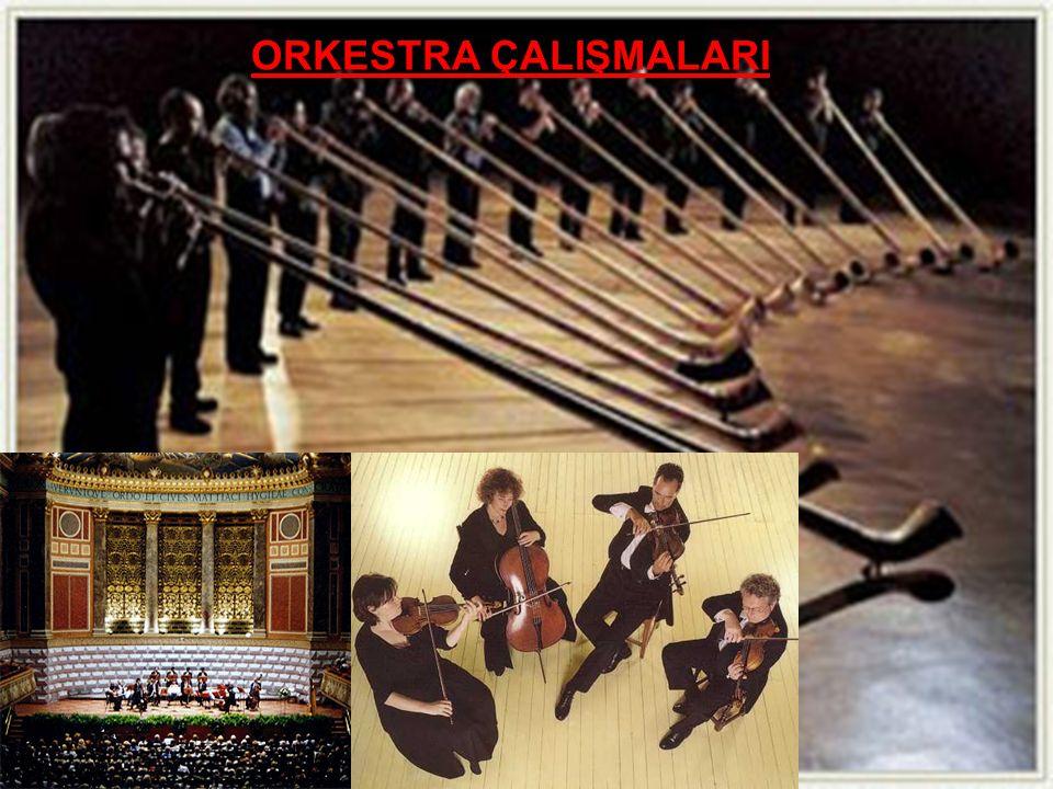 ORKESTRA ÇALIŞMALARI