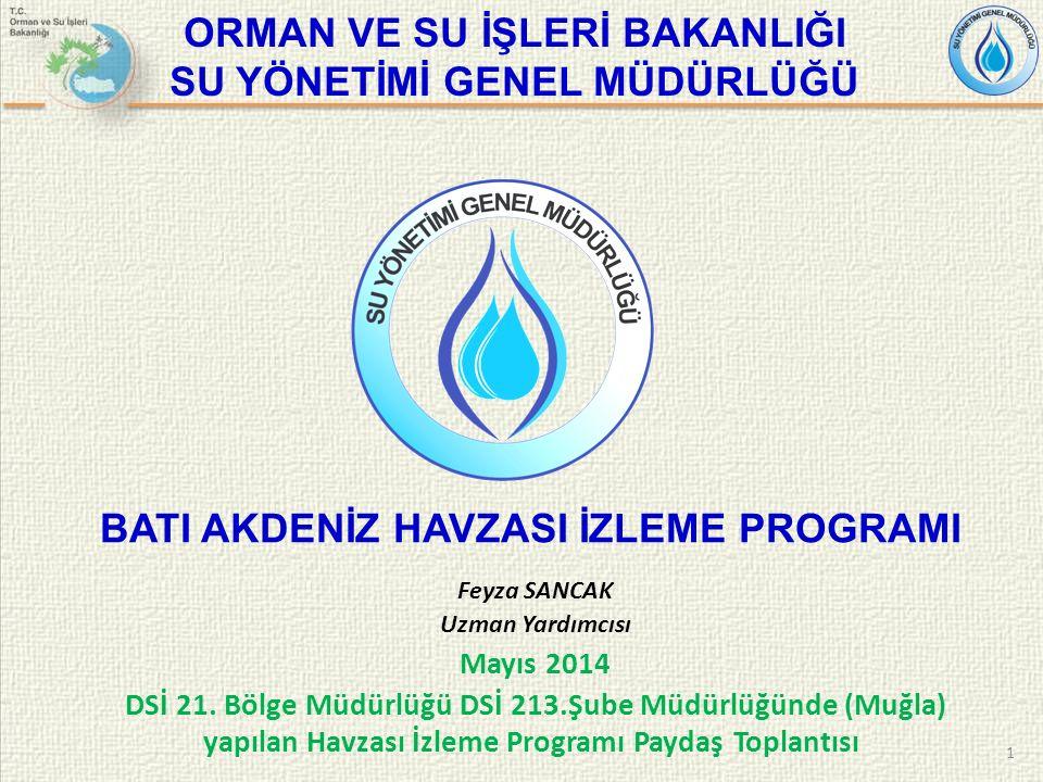 İÇERİK 2  Teşkilat Yapısı  Mevzuat  Su Çerçeve Direktifi  Su Çerçeve Direktifi ve İzleme  Su Kütleleri ve Tipolojilerin Belirlenmesi  Risk Analizi  Havza İzleme ve Referans Noktaların Belirlenmesi Projesi  İzleme Noktalarının Seçimi  İzleme Parametreleri  Teşkilat Yapısı  Mevzuat  Su Çerçeve Direktifi  Su Çerçeve Direktifi ve İzleme  Su Kütleleri ve Tipolojilerin Belirlenmesi  Risk Analizi  Havza İzleme ve Referans Noktaların Belirlenmesi Projesi  İzleme Noktalarının Seçimi  İzleme Parametreleri