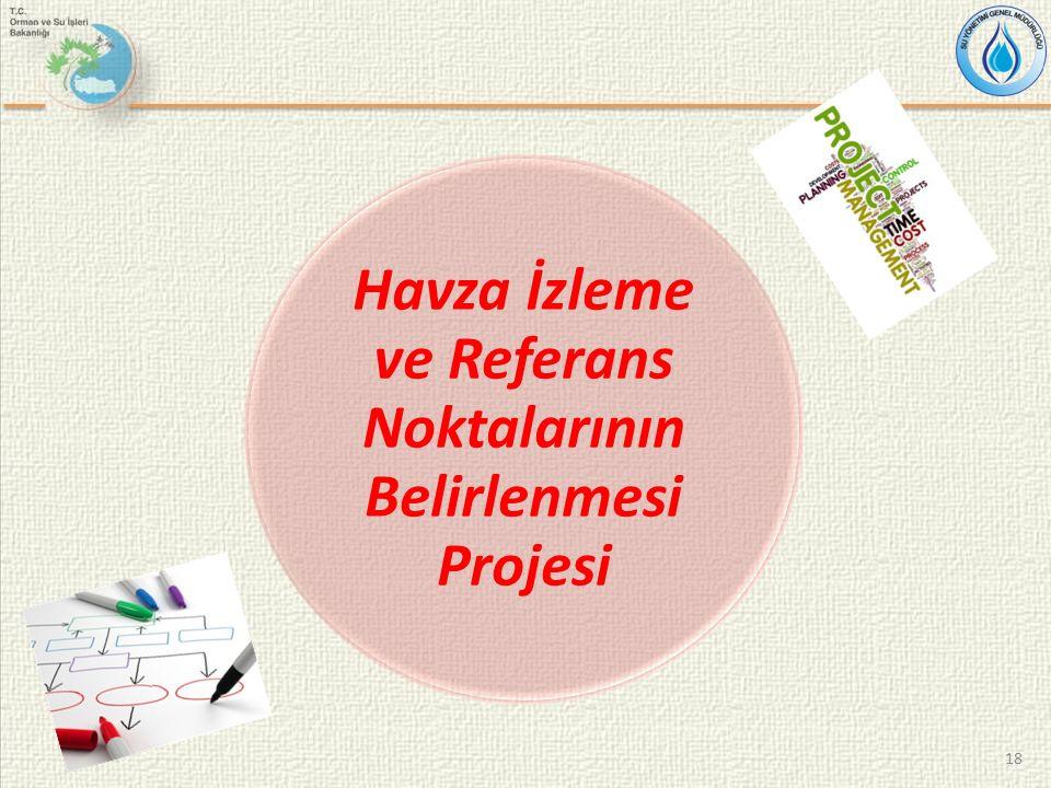 Havza İzleme ve Referans Noktalarının Belirlenmesi Projesi 18