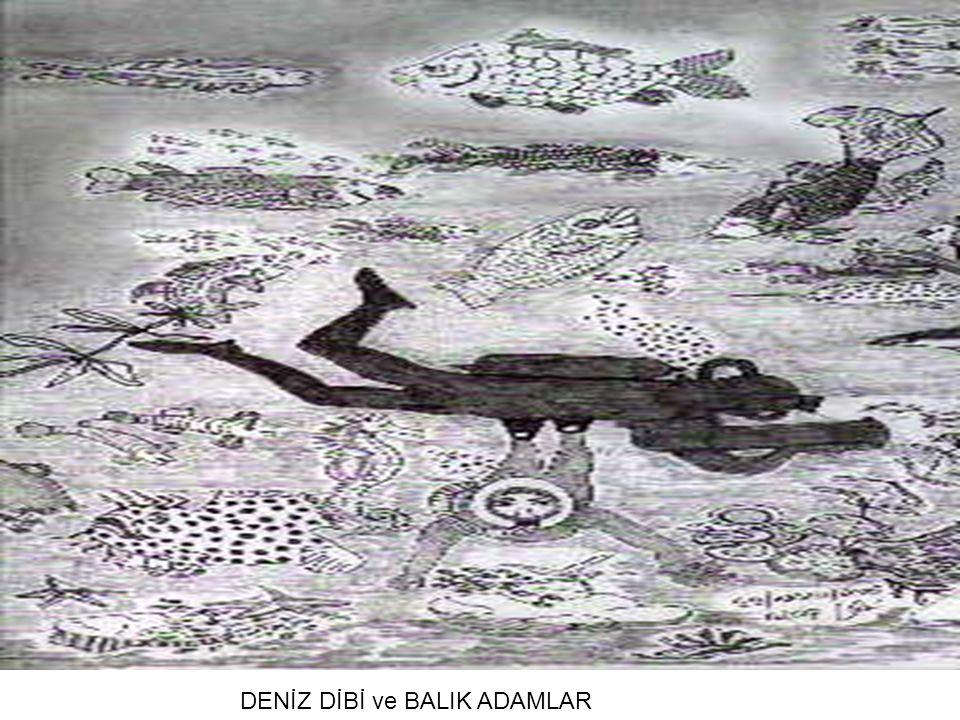 DENİZ DİBİ ve BALIK ADAMLAR