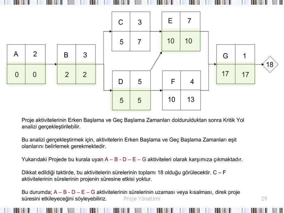Proje Yönetimi29