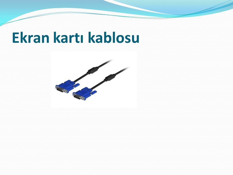 Ekran kartı kablosu