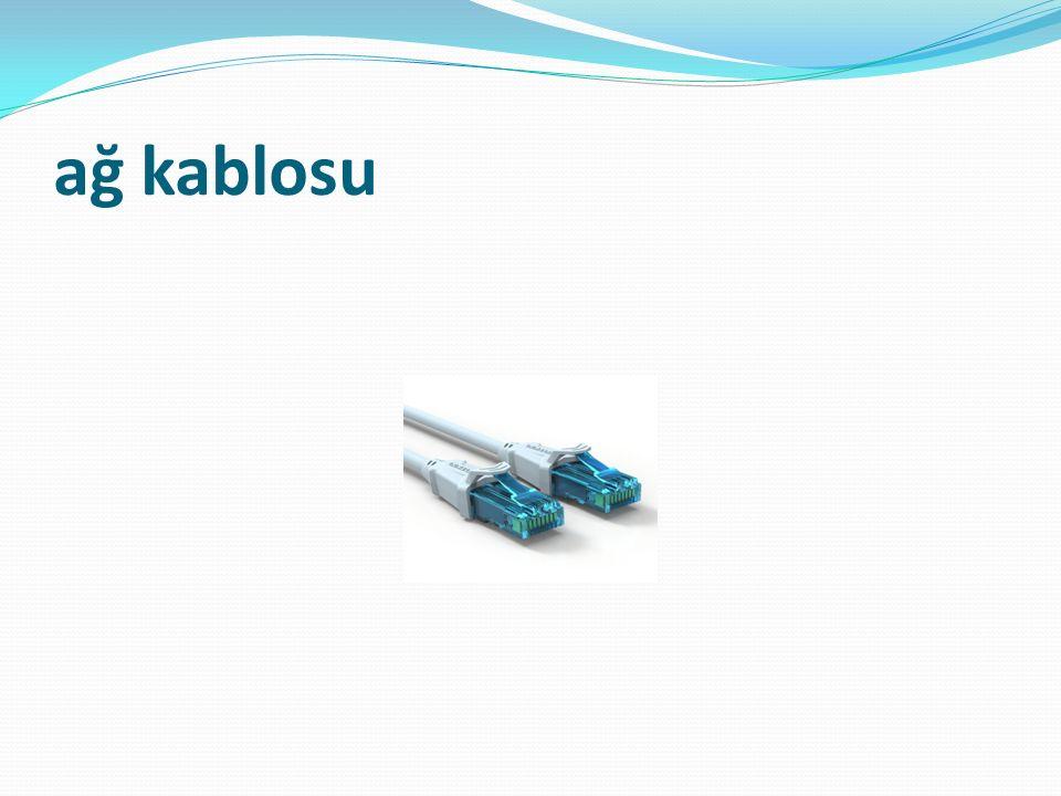 ağ kablosu