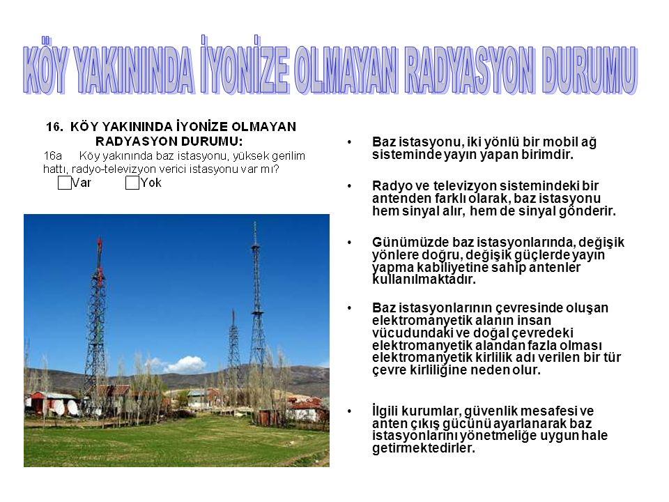 Baz istasyonu, iki yönlü bir mobil ağ sisteminde yayın yapan birimdir.