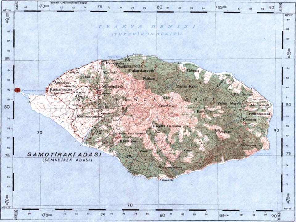 Ölçek 2.Büyük Ölçekli Haritalar: Ölçekleri 1/1.000 ile 1/100.000 arasında olan çizimlerdir.