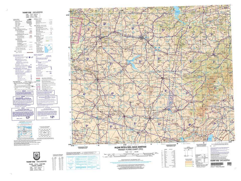 1/1.000 ve 1/5.000 ölçekli Harita Örnekleri