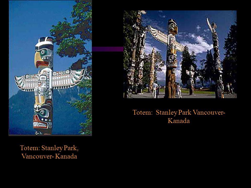 Totem: Stanley Park, Vancouver- Kanada Totem: Stanley Park Vancouver- Kanada