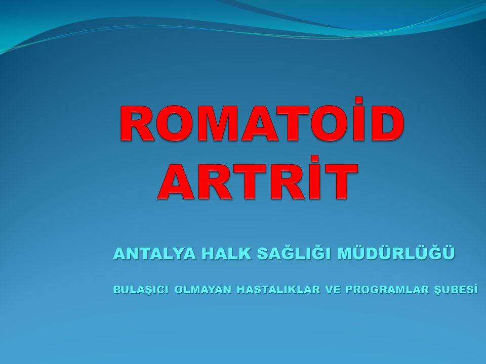 BU EĞİTİMDE NELER PAYLAŞACAĞIZ.Romatoid Artrit nedir.