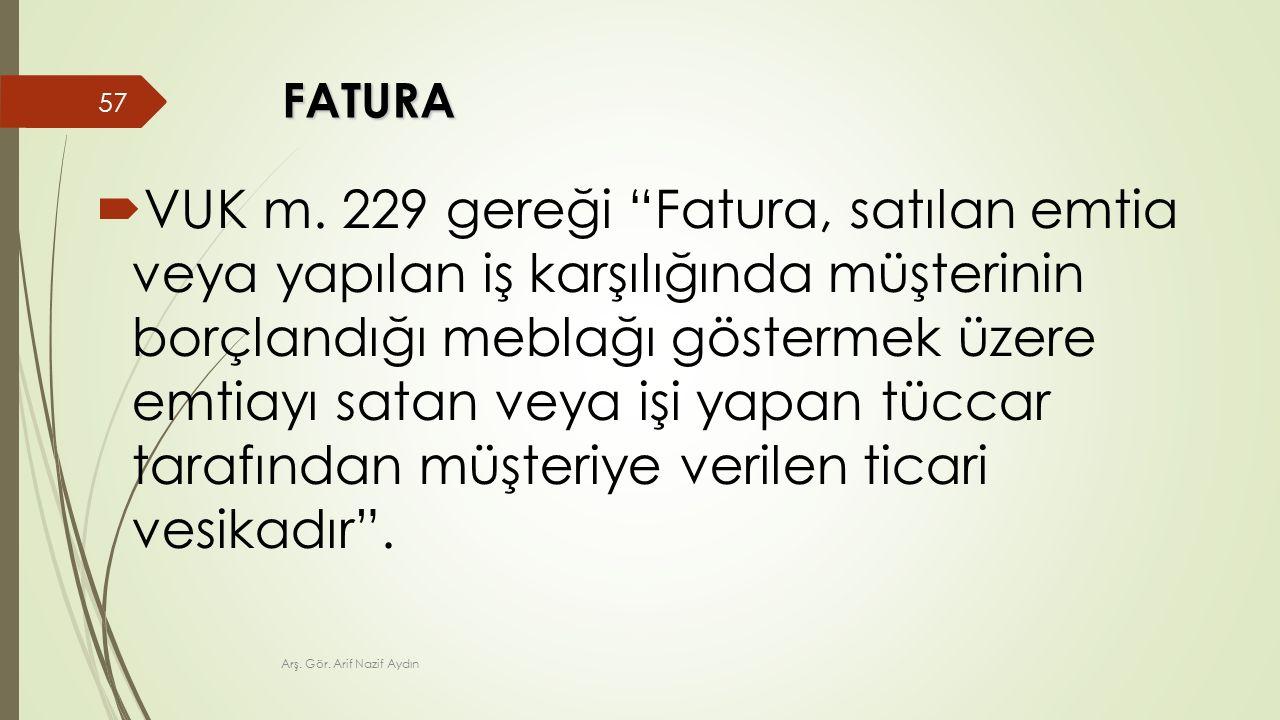 FATURA  VUK m.