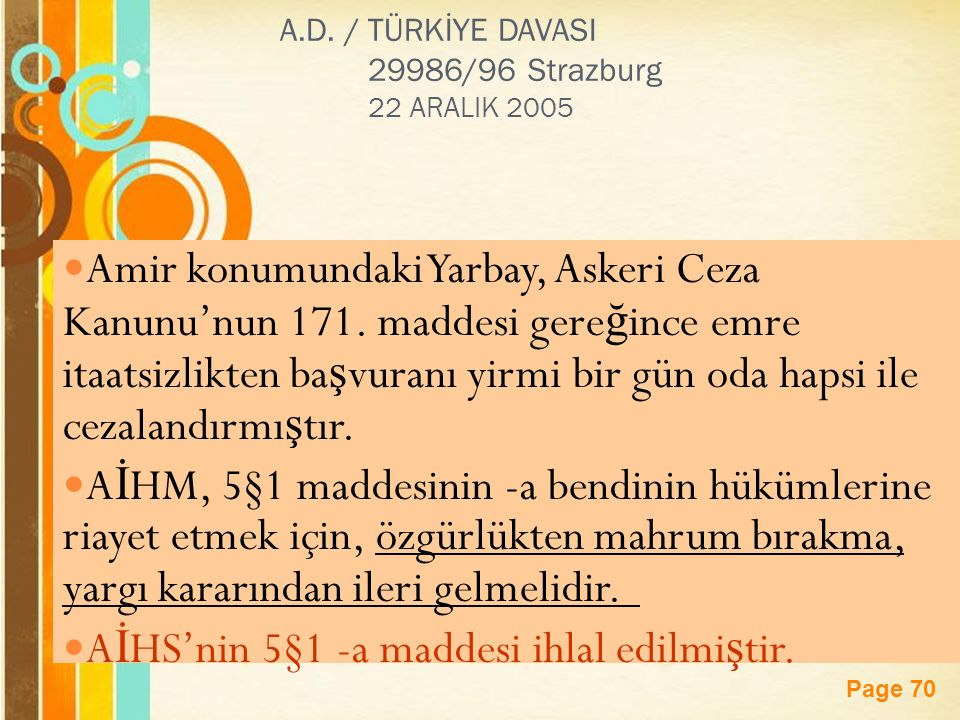 Page 70 A.D.