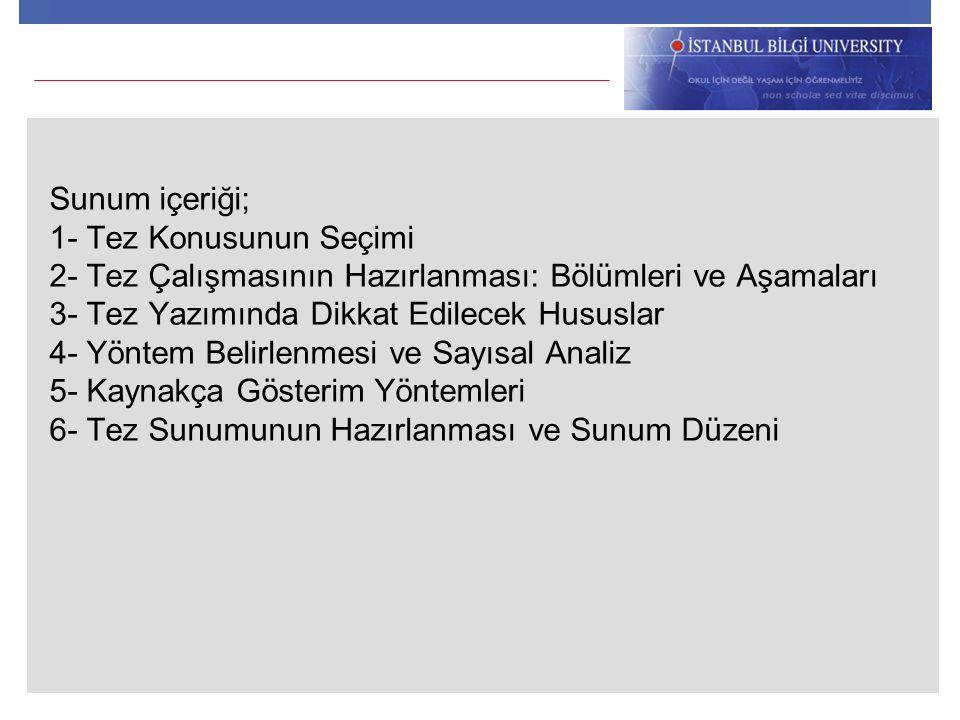 3.Atıf Sırası Sistemi 1. Huth, E. J. Guidelines on authorship of medical papers.