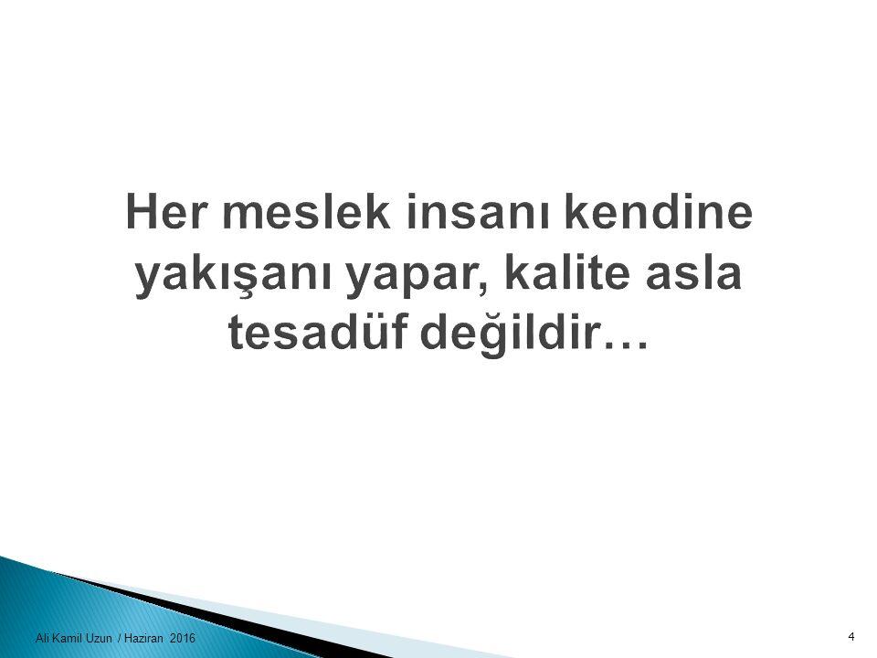Ali Kamil Uzun / Haziran 2016 4