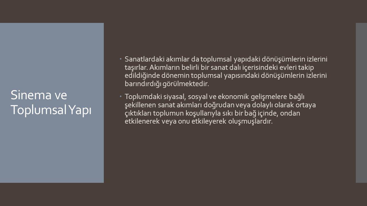 1960'tan Sonra Türk Sinemasında Meydana Gelen Hareketler -------- Halk Sineması Tanımlaması  Nijat Özön de, Halk Sineması düşüncesinin dayandırılmaya çalışıldığı bu ekonomik yapının sadece Türkiye ye özgü olmadığını, tüm dünyada uygulandığını söyleyerek bu sava karşı çıkar.