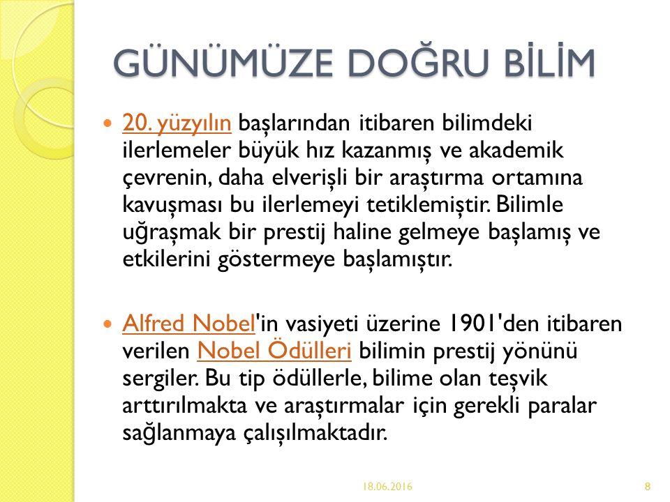 19 Ülkemiz Bilim Kadınları Ülkemizde kadınlar ilk kez Cumhuriyet döneminde Atatürk sayesinde bilim dünyasına adım atabildiler.