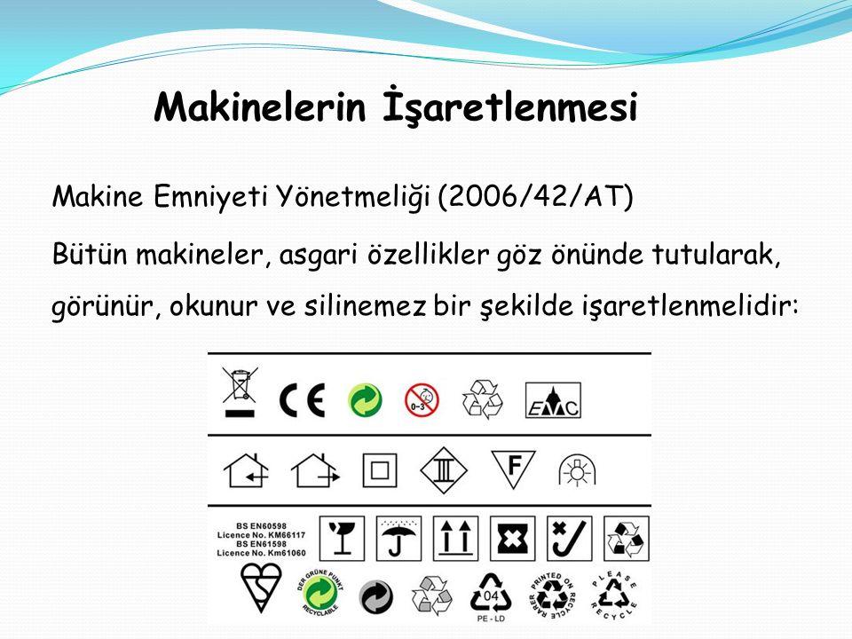8.İki Elle Kumanda sistemi: Özellikle preslerde kullanılan bir makine koruyucu sistemdir.