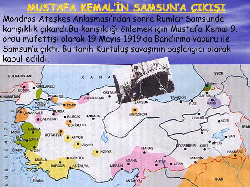 www.konakli.somee.com4 Mondros Ateşkes Antlaşması'ndan sonra Anadolu'nun nereleri kimler tarafından işgal edilmiştir? Mondros Ateşkes Antlaşması'ndan