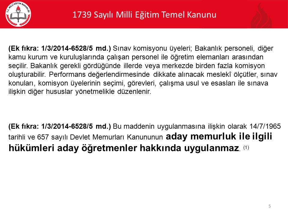 PERFORMANS DEĞERLENDİRME SİCİL NOTU DEĞİLDİR.