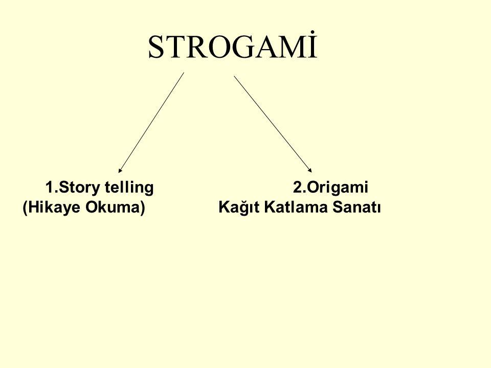 STROGAMİ 1.Story telling 2.Origami (Hikaye Okuma) Kağıt Katlama Sanatı