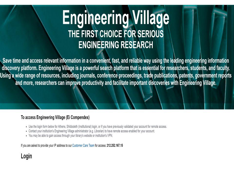 Engineering Village