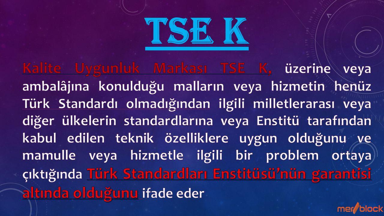 TSE K