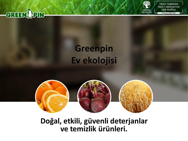 Doğal, etkili, güvenli deterjanlar ve temizlik ürünleri. Greenpin Ev ekolojisi
