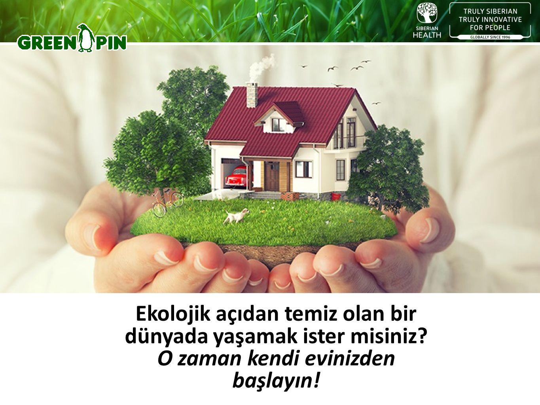 Ekolojik açıdan temiz olan bir dünyada yaşamak ister misiniz O zaman kendi evinizden başlayın!