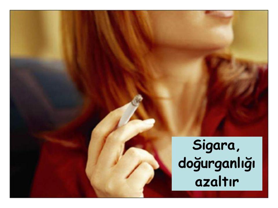 11 Sigara, doğurganlığı azaltır