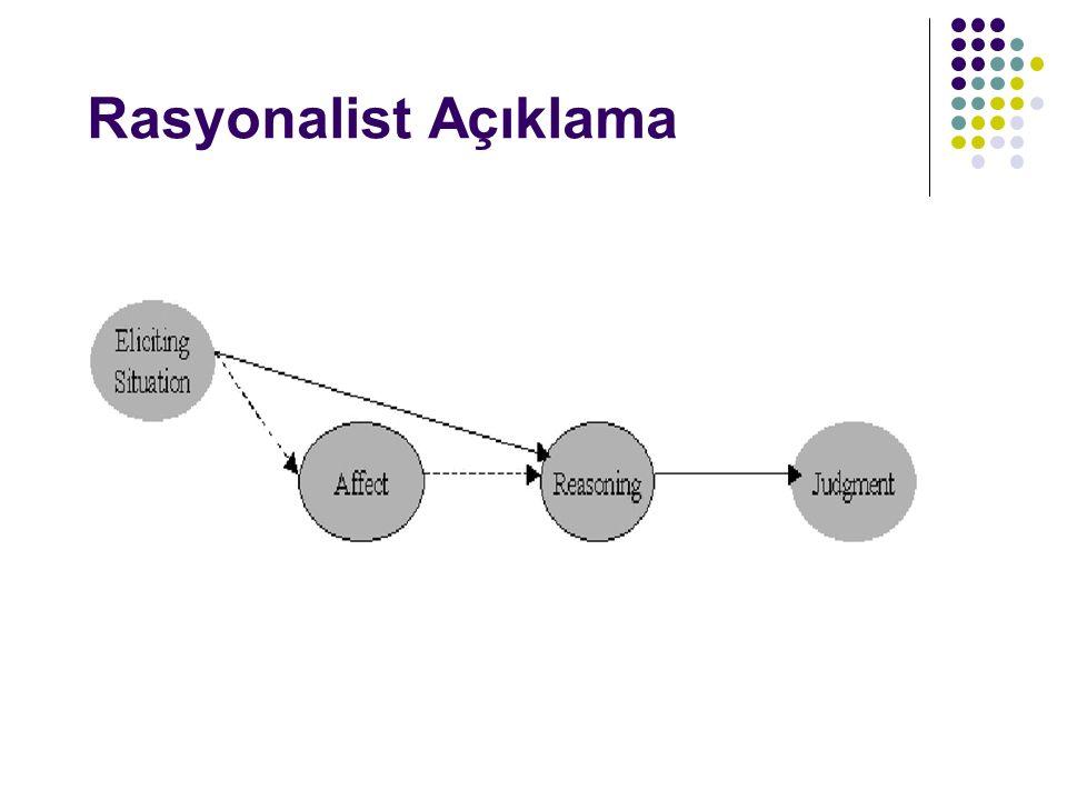 Ahlaki muhakemeye ilişkin felsefi modeller Hauser M D Soc Cogn Affect Neurosci 2006;1:214-220 © The Author (2006).