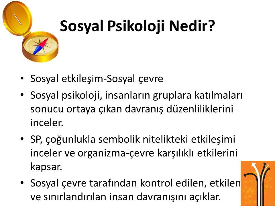 Sosyal Psikoloji Nedir.