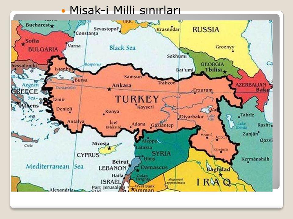 Misak-i Milli sınırları