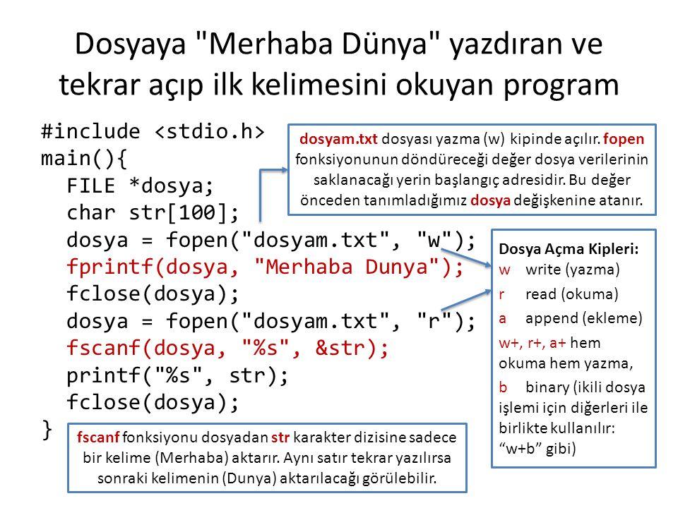 Dosyaya