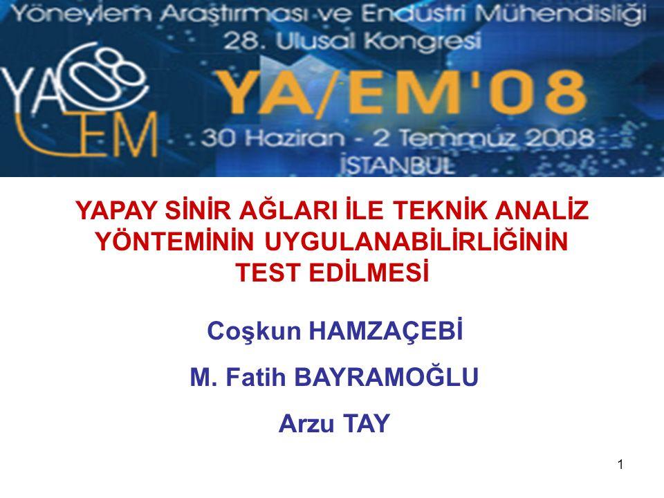 32 Dinlediğiniz İçin Teşekkür Ederiz İletişim Coşkun Hamzaçebi coskunh@karaelmas.edu.tr M.