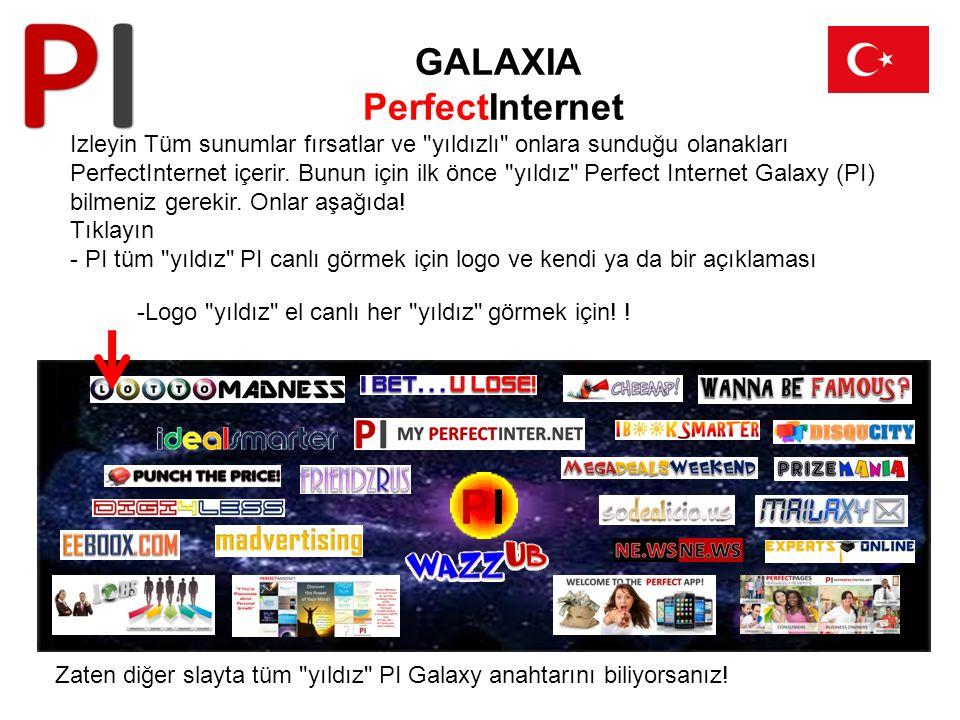 GALAXIA PerfectInternet Izleyin Tüm sunumlar fırsatlar ve