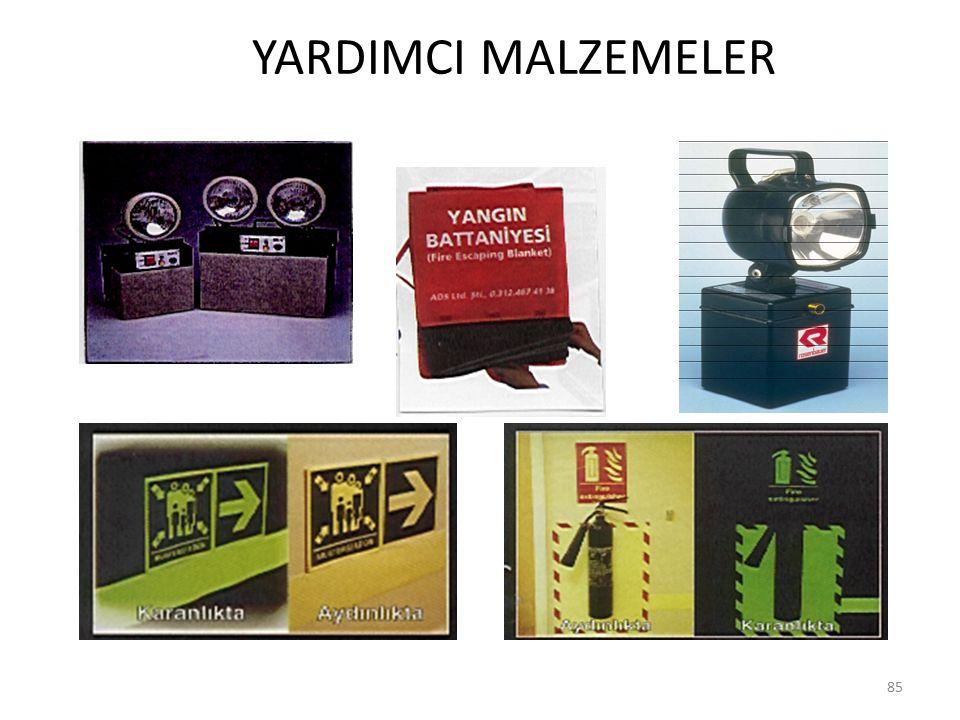 YARDIMCI MALZEMELER 85