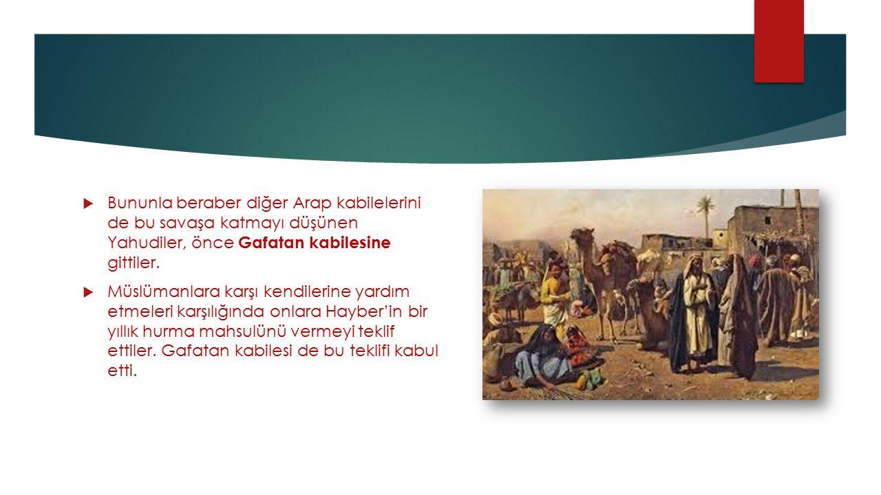  Huyey bin Ahtab liderliğindeki bir Yahudi heyeti Mekke'ye giderek, Müslümanlara karşı Kureyşlilerle ittifak teklifi yaptı.