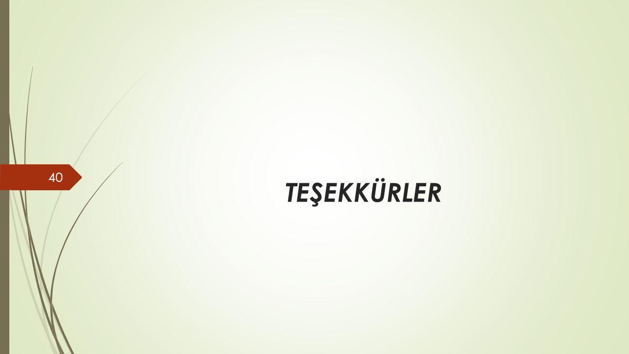TEŞEKKÜRLER 40