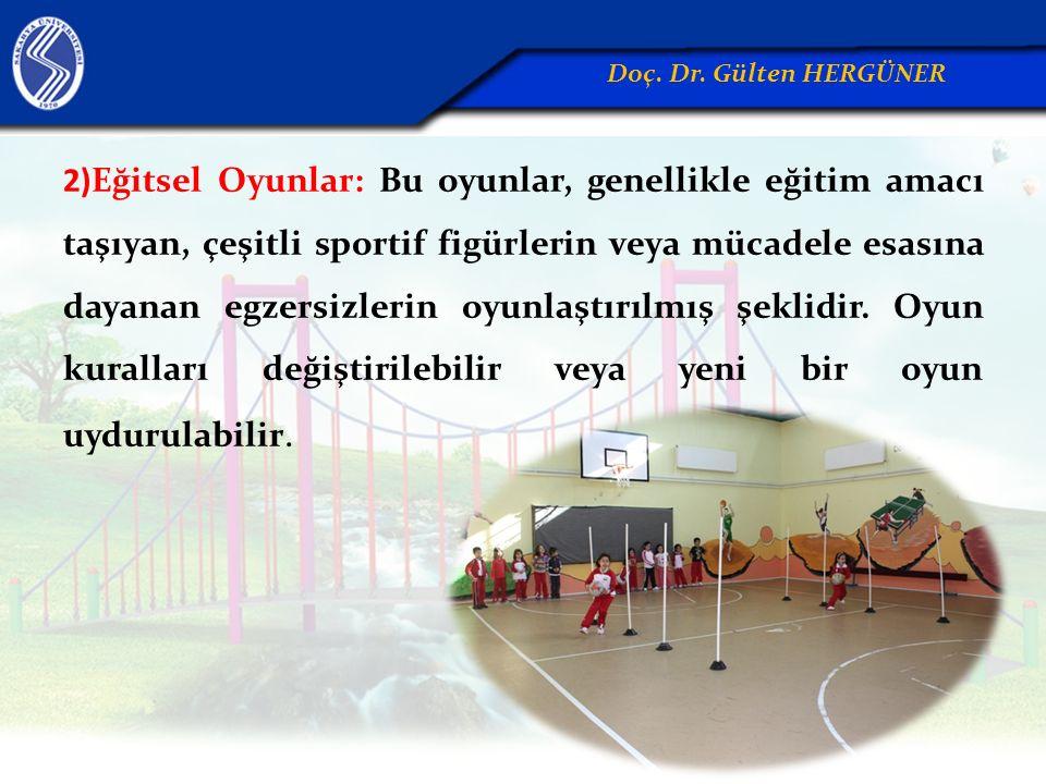 2)Eğitsel Oyunlar: Bu oyunlar, genellikle eğitim amacı taşıyan, çeşitli sportif figürlerin veya mücadele esasına dayanan egzersizlerin oyunlaştırılmış şeklidir.