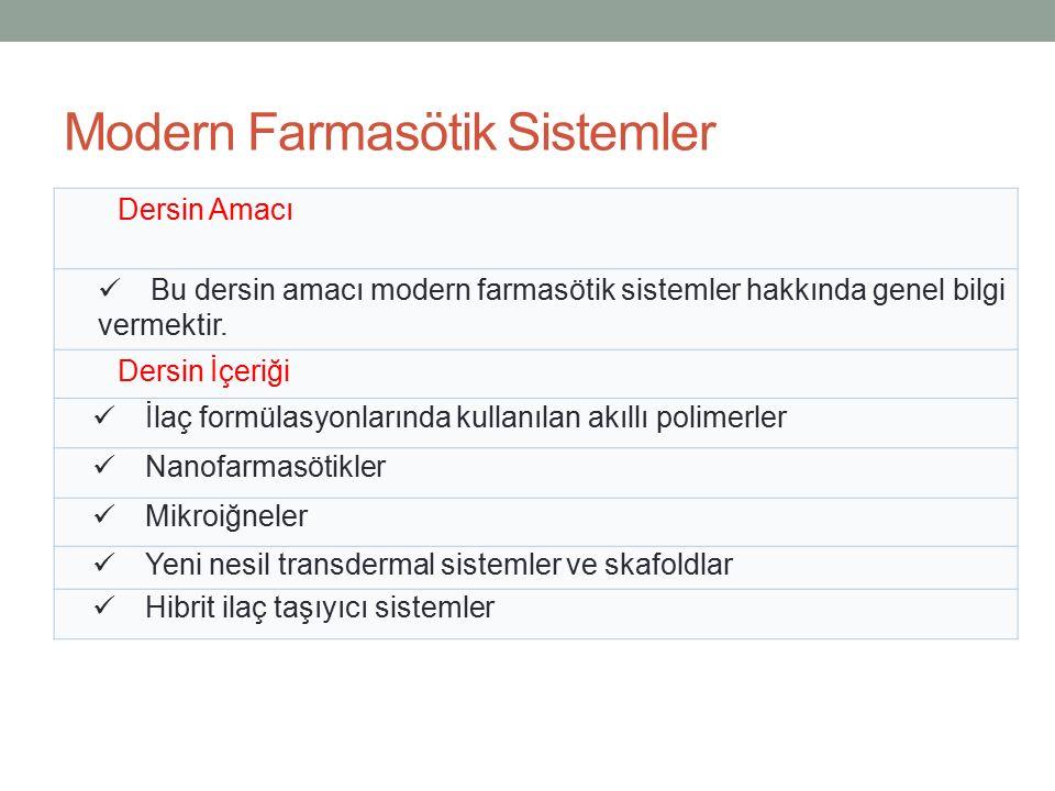 FARMASÖTİK BİYOTEKNOLOJİ Alan Dersleri