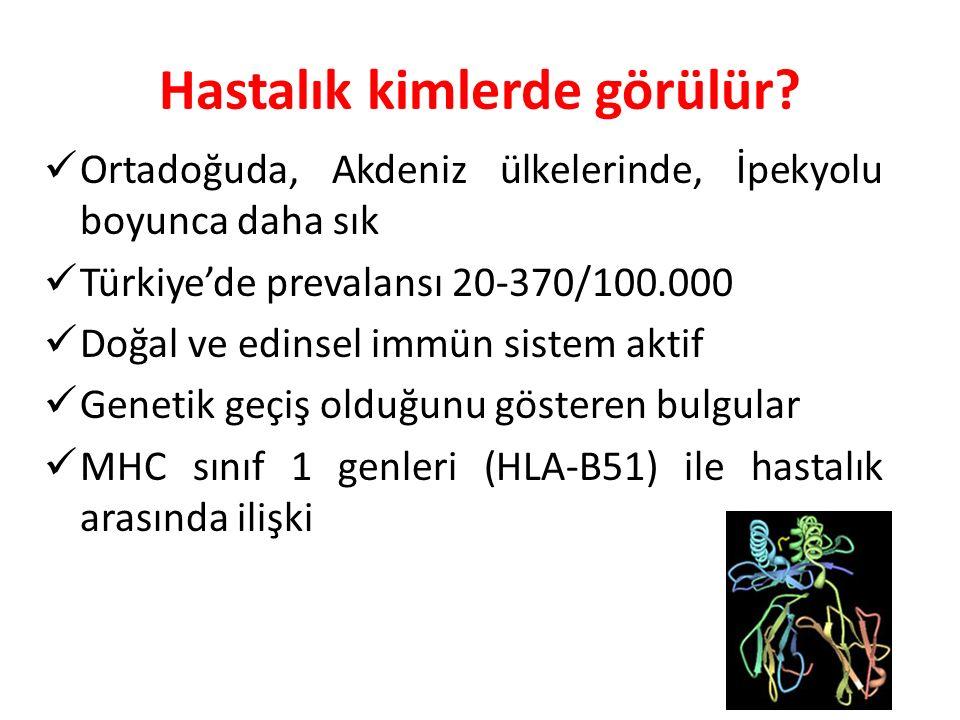 Hastalık kimlerde görülür? Ortadoğuda, Akdeniz ülkelerinde, İpekyolu boyunca daha sık Türkiye'de prevalansı 20-370/100.000 Doğal ve edinsel immün sist