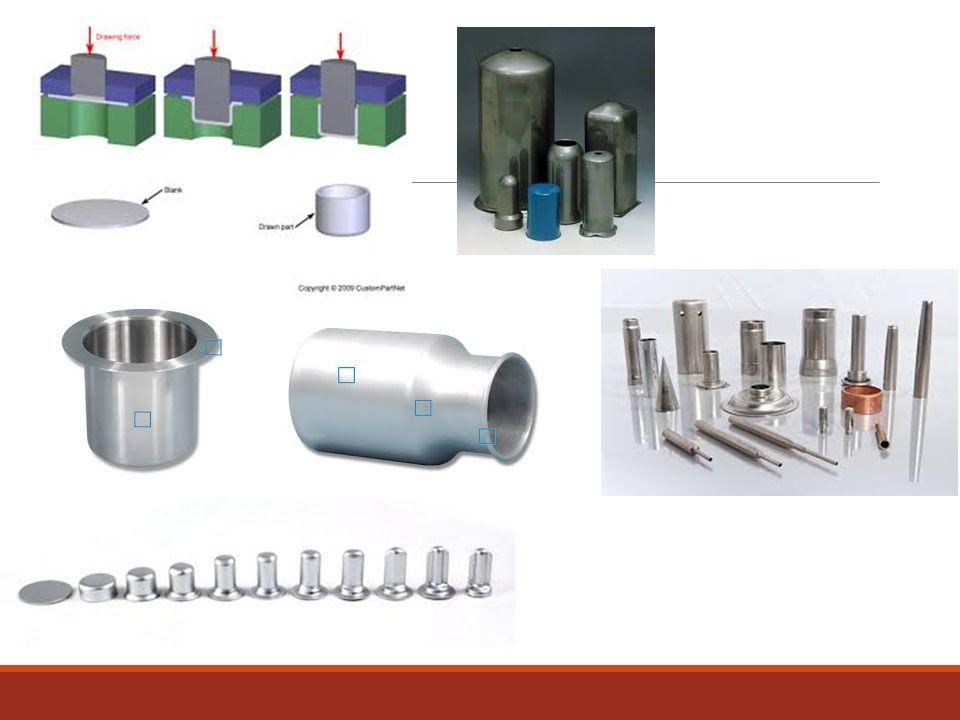 Boşluk tipi ş.v Başlangıçta parça ısıtılarak gaz basıncı ile kalıpla temas edecek şekle getirilir.