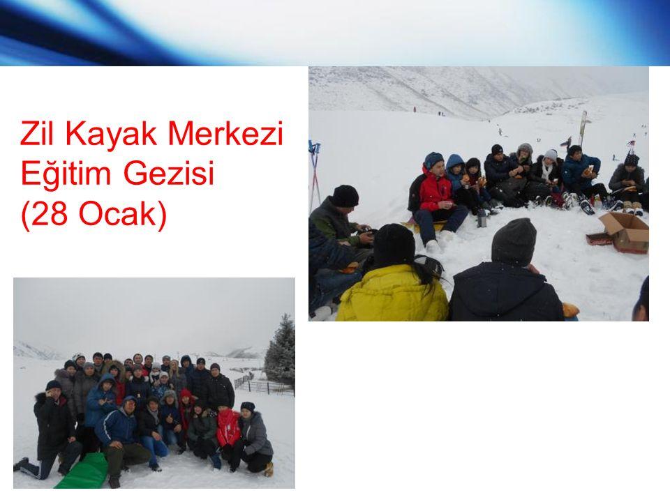 www.themegallery.com Zil Kayak Merkezi Eğitim Gezisi (28 Ocak)