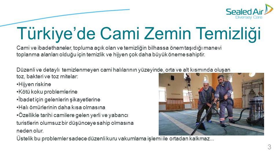 Türkiye'de Cami Zemin Temizliği Cami ve ibadethaneler, topluma açık olan ve temizliğin bilhassa önem taşıdığı manevi toplanma alanları olduğu için temizlik ve hijyen çok daha büyük öneme sahiptir.