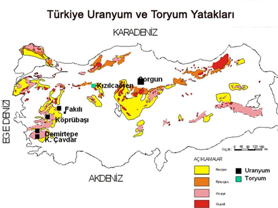 Türkiye'de Uranyum