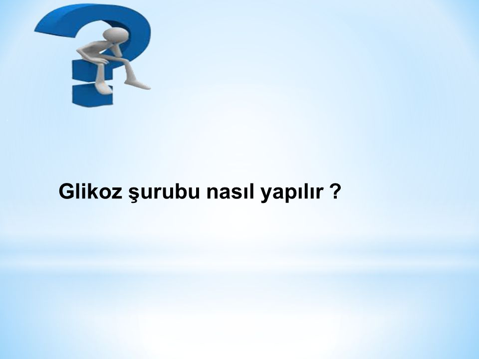 Glikoz şurubu nasıl yapılır ?