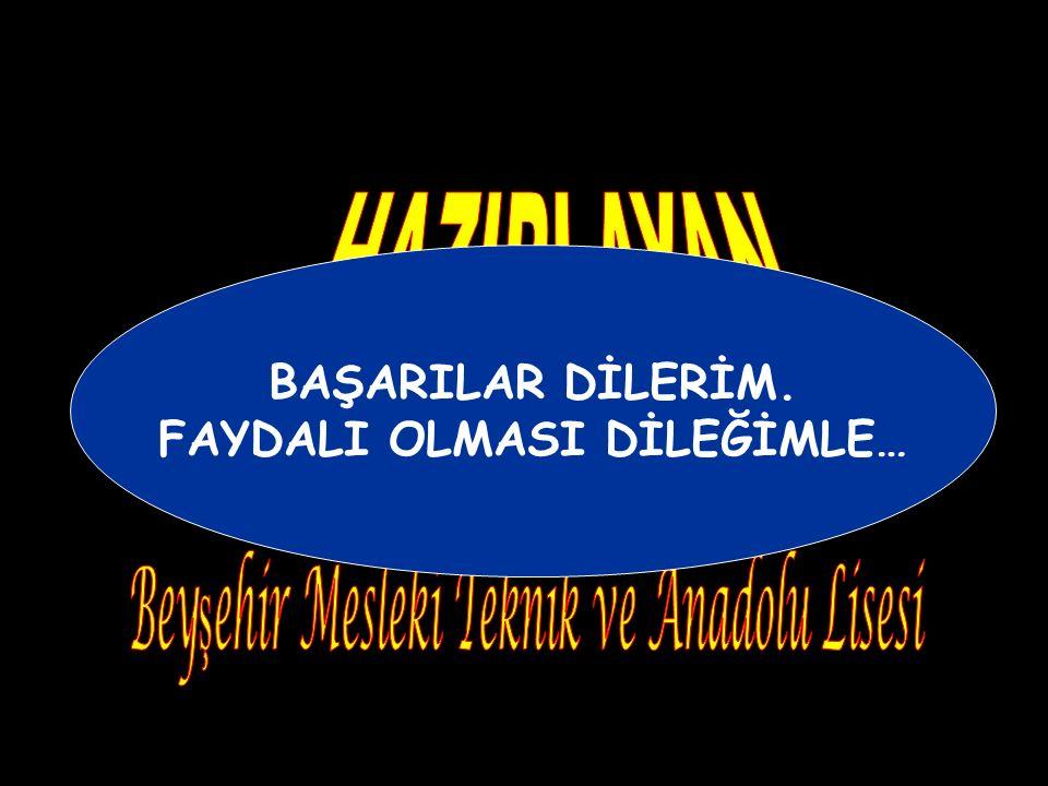 - Bu dönemde Osmanlı uyruğunda bulunanlar arasında din ve mezhep ayrımının yapılmaması karara bağlandı. Ben Müslüman'ı camide, Hıristiyan'ı kilisede,