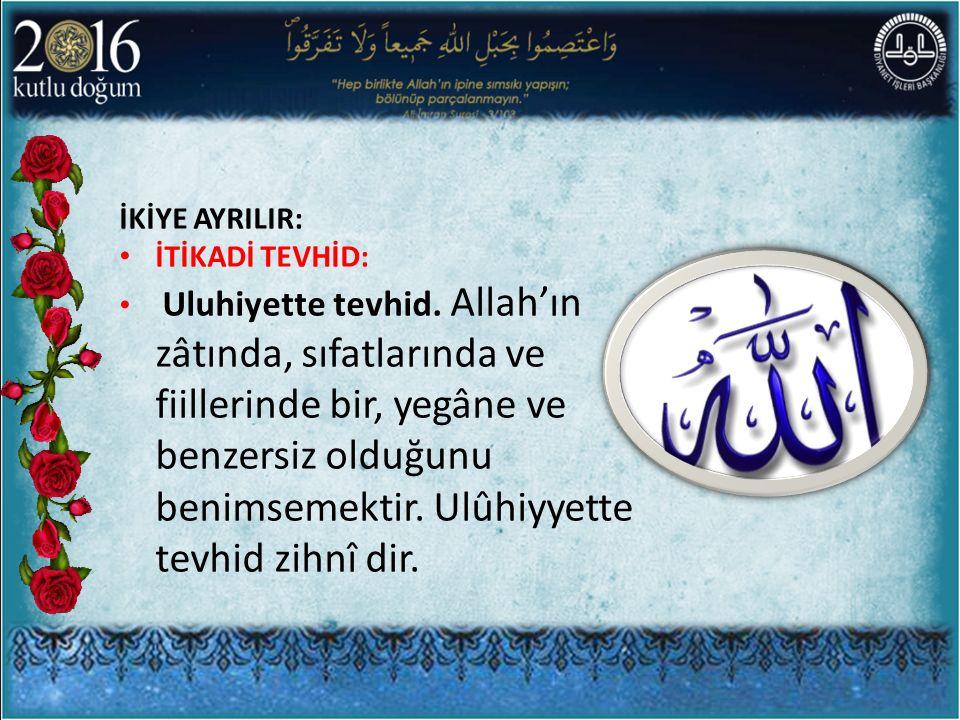 CAMİ VE VAHDET Camiler İslam toplumunun kalbidir.İslam toplumu camilerle diri bir toplum olurlar.