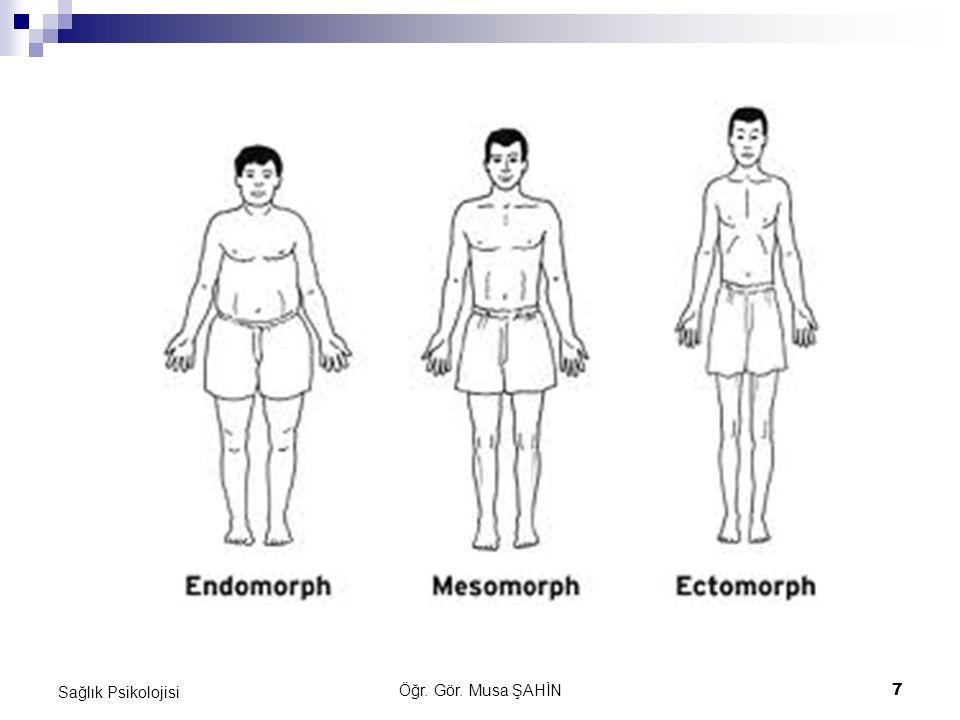 Öğr. Gör. Musa ŞAHİN 7 Sağlık Psikolojisi